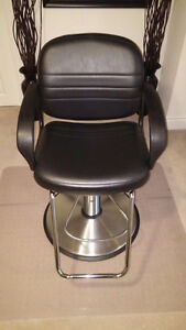 Hair Salon Chair from Radiant Supplies cost over $550 New + tax.