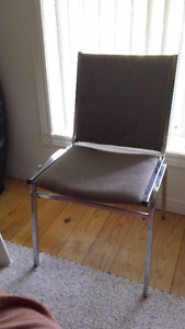 Metal  Upholstered Chairs