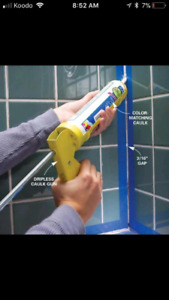 CAULKING SERVICE (MILDEW/MOLD) SHOWER,BATHTUB,WINDOW,DOOR