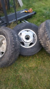 1999-2004 F350 dually rims
