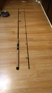 10ft 2 pice  shimano light action rod