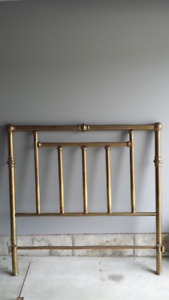 Antique Brass Bed - Double