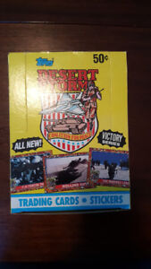 Desert Storm Coalition-for-Peace Trading Card Box