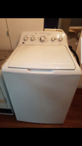 GE Washer and dryer with stand sold together or separately
