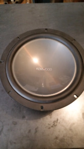 "Kenwood 10"" Subwoofer"