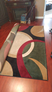 8 x 12 ft Area Rug for sale! MOVING AND MUST BE GONE TODAY!!!