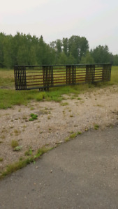 Free-standing Corral panels
