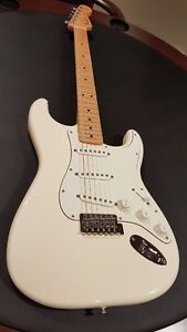 Fender Standard Strat - Maple in Arctic White Windsor Region Ontario image 3