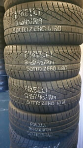 """19"""" Winter USED Tires in LIKE NEW Condition!!!!!!!"""