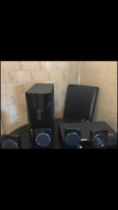 Surround Sound speaker set LG 5.1