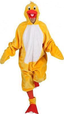 Ente Enten Donald Duck Overall Kostüm Entenkostüm Entenoverall Vogel Vogelkostüm (Ente Kostüm Kostüm)