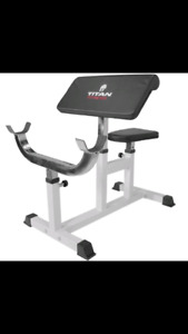"""""""LOOKING FOR"""" Preacher curl bench"""