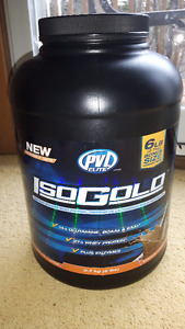 PVL Elite ISO-GOLD PREMIUM ISOLATED WHEY PROTEIN, 6LB (2.70 Kg)