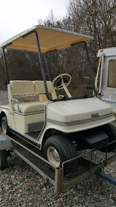 1989 Yamaha Gas golf cart, excellent shape