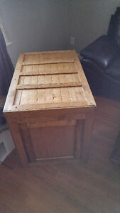 Large Trunk wooden chest handmade ash and pine Peterborough Peterborough Area image 2