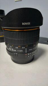 Fisheye Lens by Bower - NIKON Mount
