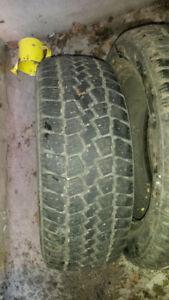 2 pneus d'hiver Tempra Winter Quest 195/60R15
