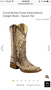 Corral cowgirl boots