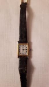 Ladies Seiko Square Roman White