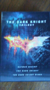 Movies The Dark Knight Trilogy DVD's