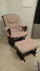 Glider /Rocking Chair and Ottoman for Nursery