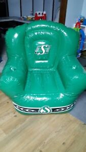 Roughrider Football Inflatible Chairs
