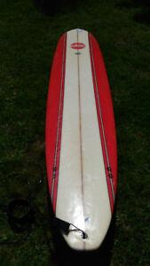 9'6 longboard surfboard watercool