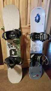 Firefly and Burton Snow Boards