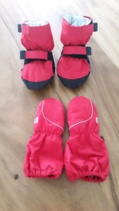 MEC toaster booties and mittens
