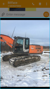 Owner operated 2011 ZX 200 Hitachi