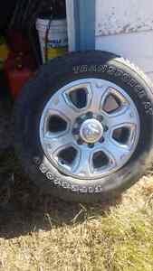 Dodge 3500 rims and tires