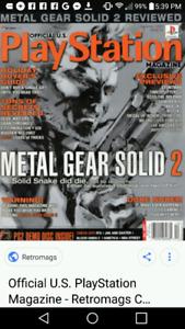Recherche official us playstation magazine