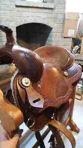 15 inch Saddle For Sale! Great Condition  London Ontario image 1