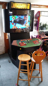 Arcade machine with 20 000 games MAME working coin slots