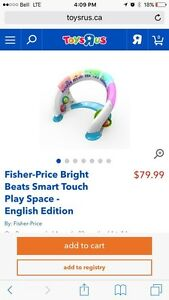 Fisher Price Bright Beats standing activity center