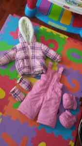 Snowsuit - Joe Fresh (with attachable mitts and boots)