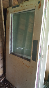 "Used 42"" interior Fire Proof Doors"