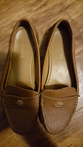 Coach loafers womans