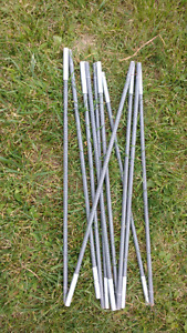 Camping poles for tent