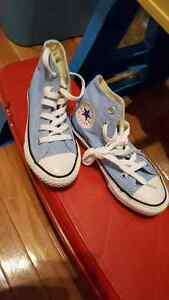 Converse brand new  (light blue) size 11 (8 inches) $30