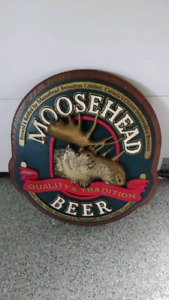 Moosehead vintage bar sign