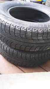 Michelin X-ice 215 / 70R15 98T Studless winter tires