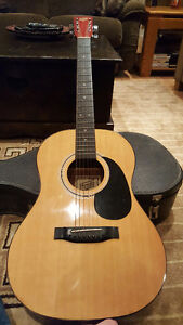 1980 Hondo II Acoustic Guitar - Great Condition