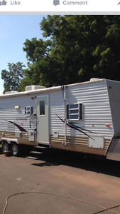 Conquest travel trailer
