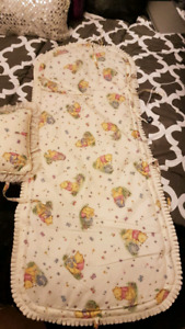 Winnie the Pooh Bathroom Set and Rocking chair pad/pillow