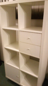 Excellent cube storage/display unit with drawers