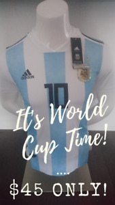 2018 Argentina World Cup Home/Away Jerseys! $45 Only !!