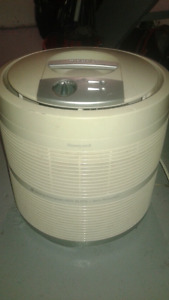 Honeywell HEPA air cleaner.