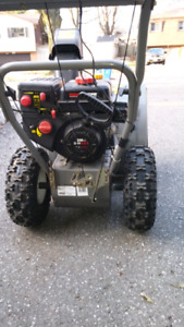 Yard pro two stage snowblower 24in electric start