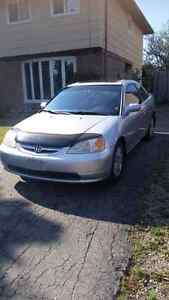 Selling my 2001 Honda Civic Si!  Certified and E-tested